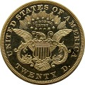 View 20 Dollars, Proof, United States, 1867 digital asset number 1