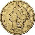 View 20 Dollars, United States, 1868 digital asset number 0