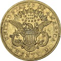 View 20 Dollars, United States, 1868 digital asset number 1