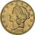 View 20 Dollars, United States, 1870 digital asset number 0