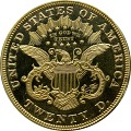 View 20 Dollars, Proof, United States, 1871 digital asset number 1