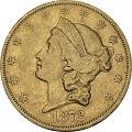 View 20 Dollars, United States, 1872 digital asset number 0