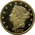 View 20 Dollars, Proof, United States, 1872 digital asset number 0