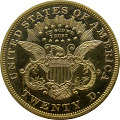 View 20 Dollars, Proof, United States, 1872 digital asset number 1