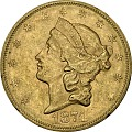 View 20 Dollars, United States, 1874 digital asset number 0