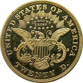 View 20 Dollars, Proof, United States, 1874 digital asset number 1