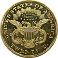 View 20 Dollars, Proof, United States, 1875 digital asset number 1