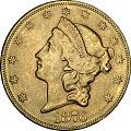 View 20 Dollars, United States, 1876 digital asset number 0