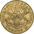 View 20 Dollars, United States, 1876 digital asset number 1