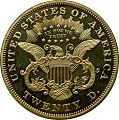 View 20 Dollars, Proof, United States, 1876 digital asset number 1