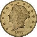 View 20 Dollars, 20 Dollars, 1877 digital asset number 0