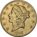 View 20 Dollars, United States, 1885 digital asset number 0