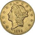 View 20 Dollars, United States, 1889 digital asset number 0