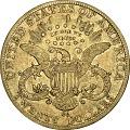 View 20 Dollars, United States, 1889 digital asset number 1