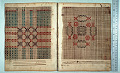View George Lauck's Manuscript Weave Pattern Book; Pennsylvania, 1805-1829 digital asset number 200