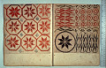 View George Lauck's Manuscript Weave Pattern Book; Pennsylvania, 1805-1829 digital asset number 206