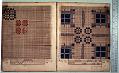 View George Lauck's Manuscript Weave Pattern Book; Pennsylvania, 1805-1829 digital asset number 209