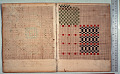 View George Lauck's Manuscript Weave Pattern Book; Pennsylvania, 1805-1829 digital asset number 211