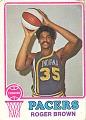 View Roger Brown Basketball Card digital asset number 0