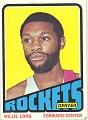 View Willie Long Basketball Card digital asset number 0