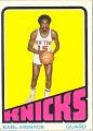 View Earl Monroe Basketball Card digital asset number 0