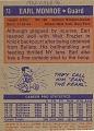 View Earl Monroe Basketball Card digital asset number 1