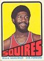 View Willie Sojourner Basketball Card digital asset number 0
