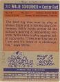 View Willie Sojourner Basketball Card digital asset number 1