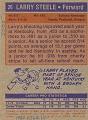 View Larry Steele Basketball Card digital asset number 1