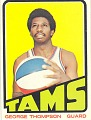 View George Thompson Basketball Card digital asset number 0