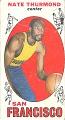 View Nate Thurmond Basketball Card digital asset number 0