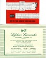 View Keuffel & Esser Analon Slide Rule Instruction Manual and Related Documentation digital asset: Keuffel & Esser Warranty and Care Instructions, AnaLon Slide Rule