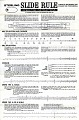View Instructions for Sterling Precision Slide Rule digital asset: Instructions for Sterling Plastics Student Slide Rule, Page 1