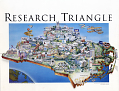 View Research Triangle Poster digital asset: Poster, Research Triangle, front.