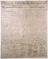 View Print, Declaration of Independence, 1823 digital asset number 1