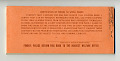 View food coupons digital asset: U.S. Department of Agriculture Food Coupons $92.00 booklet, back cover.