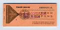 View food coupons digital asset: U.S. Department of Agriculture Food Coupons $66.00 booklet, front cover.