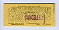 View 5 Dollar Food Certificate, U.S. Department of Agriculture, ca 1970 digital asset: Food Certificate $5.00 booklet, back cover.