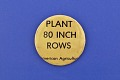 View Plant 80 Inch Rows, Protest Pin digital asset number 0