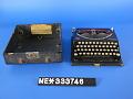 View Remington Portable Typewriter digital asset: Open.