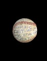 View Baseball used in the 1937 Negro League East-West All-Star Game digital asset number 0