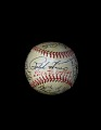 View Baseball, signed by the 1949 Pittsburgh Pirates digital asset number 0