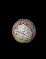 View Baseball, signed by the 1949 Pittsburgh Pirates digital asset number 1