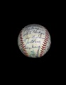 View Baseball, signed by the 1953 Brooklyn Dodgers digital asset number 3