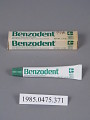 View Benzodent Analgesic Denture Ointment digital asset number 0