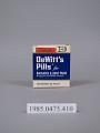 View DeWitt's Pills digital asset number 0