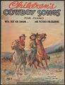View <i>Children's Cowboy Songs</> digital asset number 0