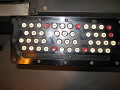 View Remington Rand Model 3 Card Punch digital asset: Remington Rand Model 3 Card Punch, Closeup of Keyboard