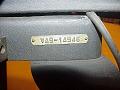 View Remington Rand Model 3 Card Punch digital asset: Remington Rand Model 3 Card Punch, Closeup of Tag