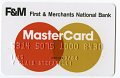 View First & Merchants National Bank Mastercard Credit Card, United States, 1984 digital asset number 1